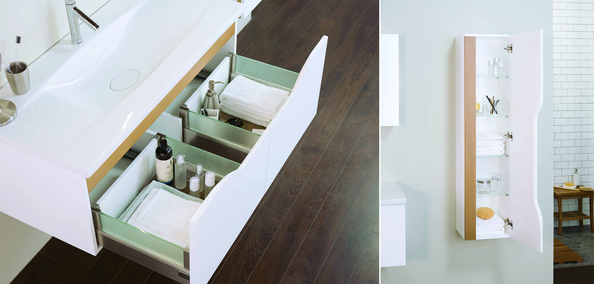 UNITY - bathroom furniture collection by Alexander Zhukovsky for Ronbow