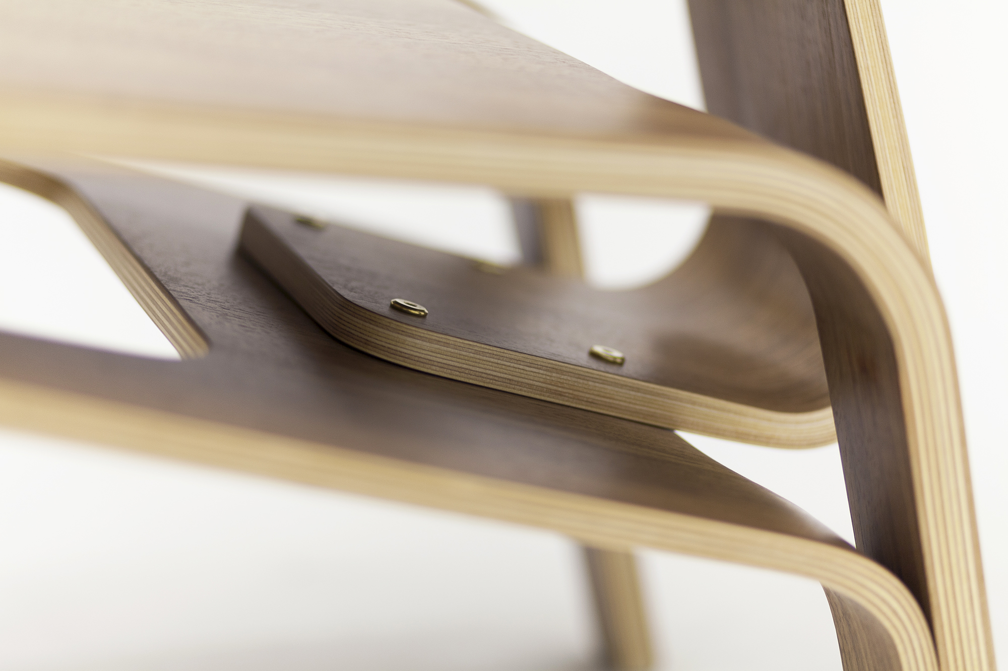 ALVAR Chair made of curved plywood designed by Alexander Zhukovsky for Aliticon . Al.Żukowski. Furniture design, seating.